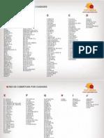 Cobertura Por Ciudades cuponidad colombia