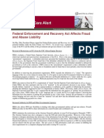 Federal Enforcement and Recovery Act Affects Fraud and Abuse Liability