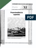 Geometria11 Proporcionalidad de Segmentos
