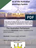 kk 1 principles of the australian parliamentary system