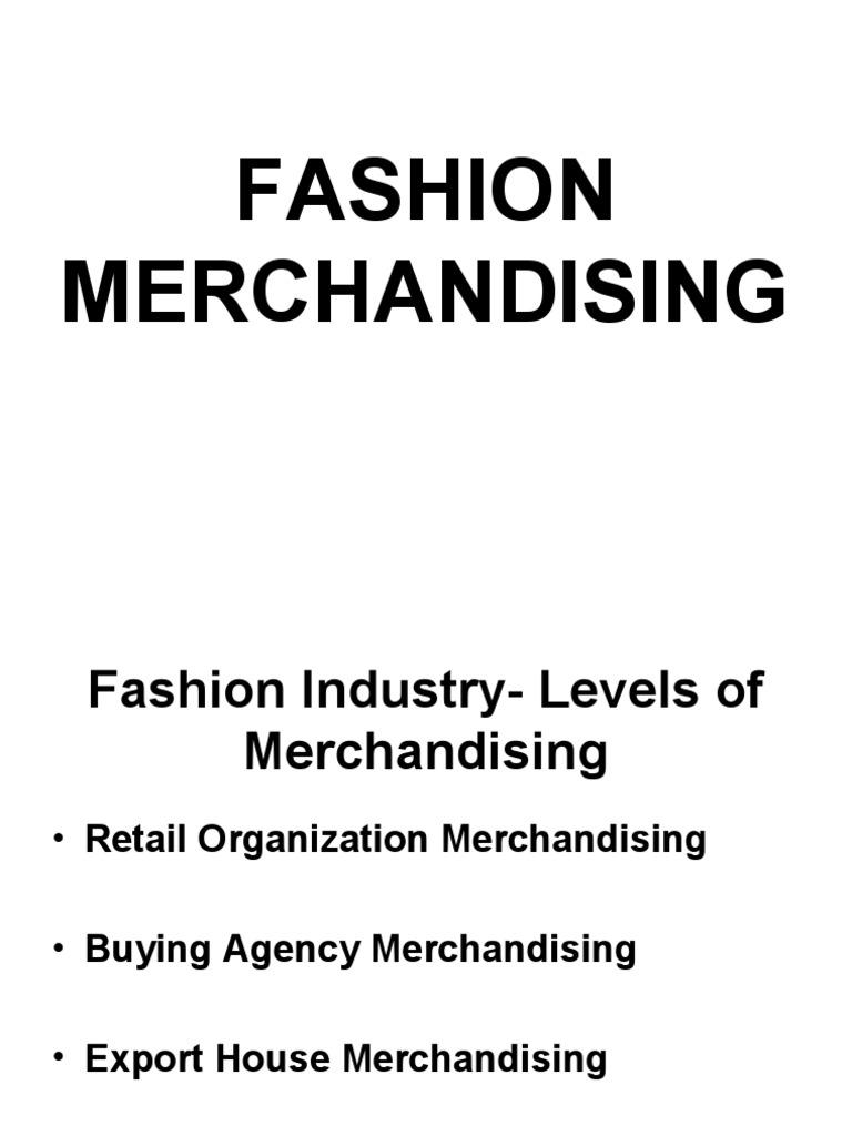 Merchandising Gross Margin Merchandising