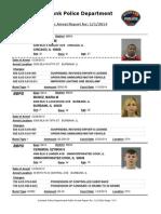 public arrest report for- 112014