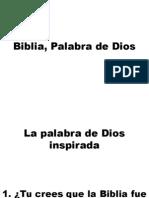 Biblia, Palabra de Dios.pptx