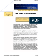 Church Solutions - The UnLicensed Church