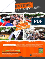 MY ADVENTURE HOST TRAINING AND EXPEDITIONS, MALAYSIA. MARKETING FLYER FOR 2014