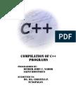 Compilation of C++ Activities