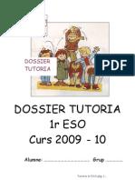 Dossier Tutoria 1r ESO 2000-10