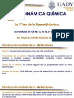 2. La 1a ley de la Termodinámica