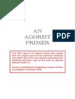 An Agorist Primer by SEK3