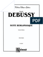 Debussy Archive Sheet Music