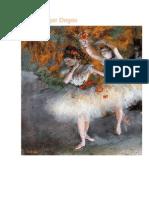 Edgar Degas - Bailarinas - .docx