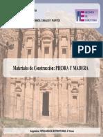 Estructuras de Piedra y Madera