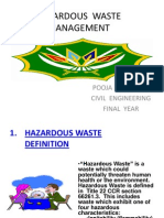 Hazardous Chemical Waste Management