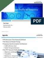 Symmetricom_ telecom profile webinar