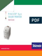 Tektronix Phaser 840 User Guide