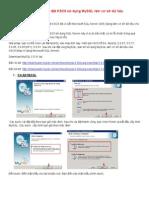 Cai Dat KSC9 Su Dung MySQL Lam Co So Du Lieu