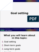 Powerpoint C - Goal Setting