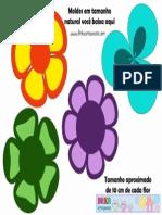 Moldes de Flores 1