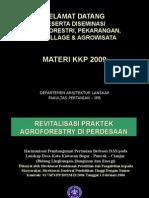01 Powerpoint Agroforestry Untuk KKP 2009_bsu