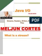 MELJUN CORTES JAVA Lecture Input Output