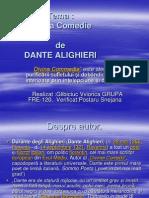 Divina Comedie de Dante Alighieri