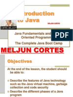 MELJUN CORTES JAVA Lecture Intro to Java