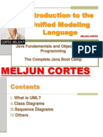 MELJUN CORTES JAVA Lecture UML