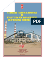 CEA Guidelines for Supercritical Thermal Power Plant (BTG)