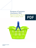 Deloitte European eCommerce Assessment 2012