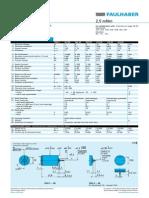 Faulhaber-datasheet