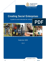 Creating Social Enterprises -  A guide to social enterprise for university staff