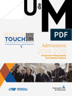 Admissions 2014 2015..
