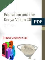Education and the Kenya Vision 2030
