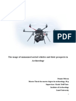 The Usage of Unmanned Aerial Vehicles and Their Prospects in Archaeology DN