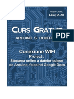 CursGratuitArduino Lectia12 ConexiuneWIFI GoogleDocs