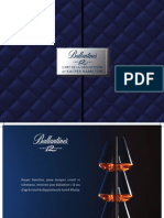 Ballantines Whisky Glasses