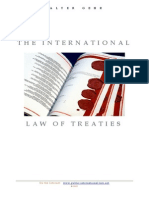 International Law of Treaties