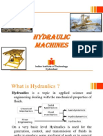 Hydraulic Machines