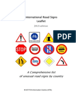 Road Signs Leaflet Online Version 2011