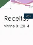 Receitas Vitrine 01.2014TupperwareShow