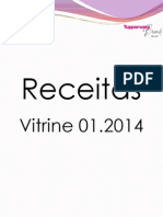 Receitas Vitrine 01.2014TupperwareShow