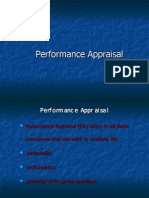 Performance Apprasial Ppt