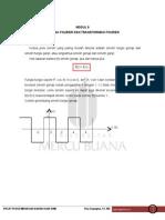 Modul 9 Analisa Fourier Dan Transformasi Fourier