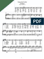 Schubert - Geist Der Liebe (Kosegarten), Op.118, No.1