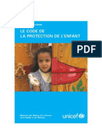 Code de Protection de lEnfance