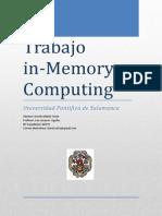 Trabajo II - In-memory Computing - David Saldaña Zurita