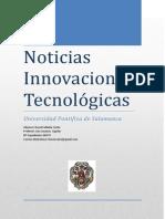 Taller  - Noticias de Innovaciones Tecnológicas - David Saldaña