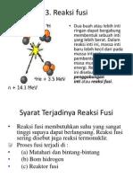 reaksi fusi