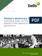 Obama's democracy 2.0