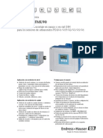 Manual Prosonic Fmu90